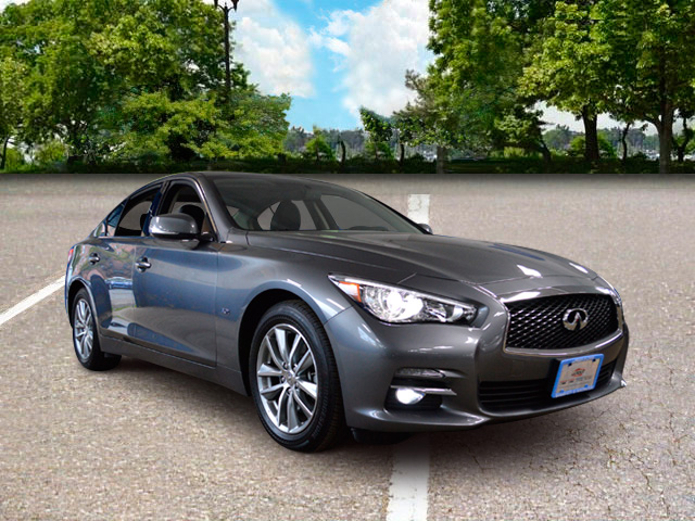 Pre Owned Infiniti Q50 >> Pre Owned 2017 Infiniti Q50 3 0t Premium 4d Sedan In Hempstead