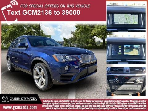 Pre-Owned 2017 BMW X3 xDrive35i AWD 4D Sport Utility